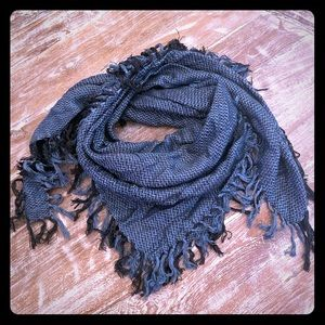 Accessories - (3for$20) Scarf~ Black~BlueGray